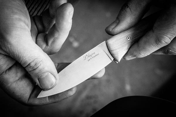 Antoine Faucheux / Fabrication de couteau