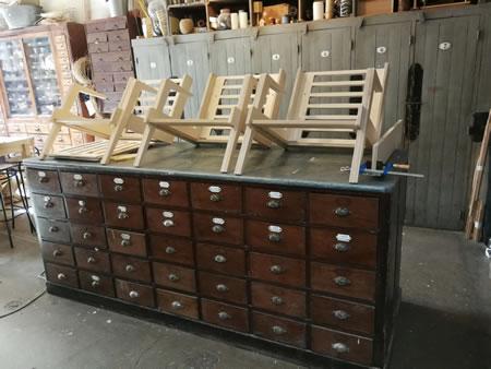 Les fauteuils de Vincent