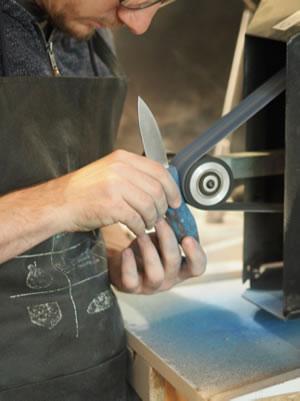 Un couteau sur mesure