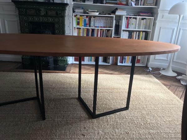 Table en contre-plaqué bouleau par Aude