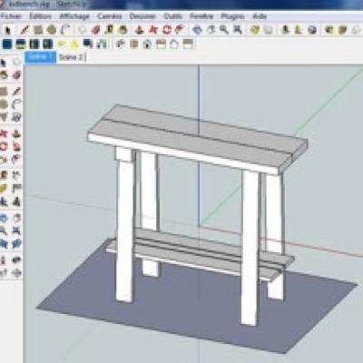 Modéliser en 3D avec SketchUp