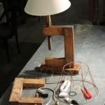 Montage de lampe à l'Etablisienne