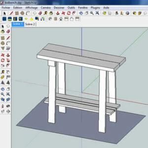 Formation Modéliser en 3D – SketchUp – L'Etablisienne