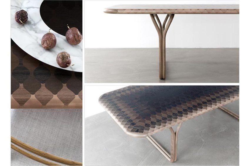Feu de tout bois u collection de mobilier contemporain en