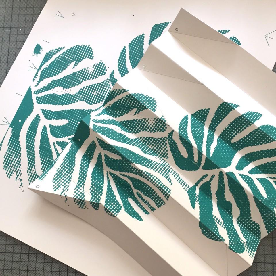 lampe jungle in the city en origami et s rigraphie l tablisienne paris ateliers bureaux. Black Bedroom Furniture Sets. Home Design Ideas